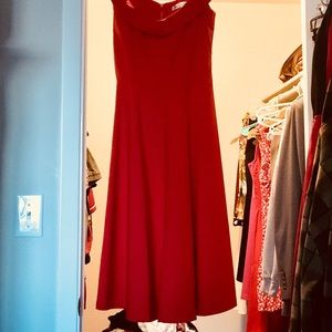 Dresses & Skirts - Rockabilly Pinup Red Formal Dress